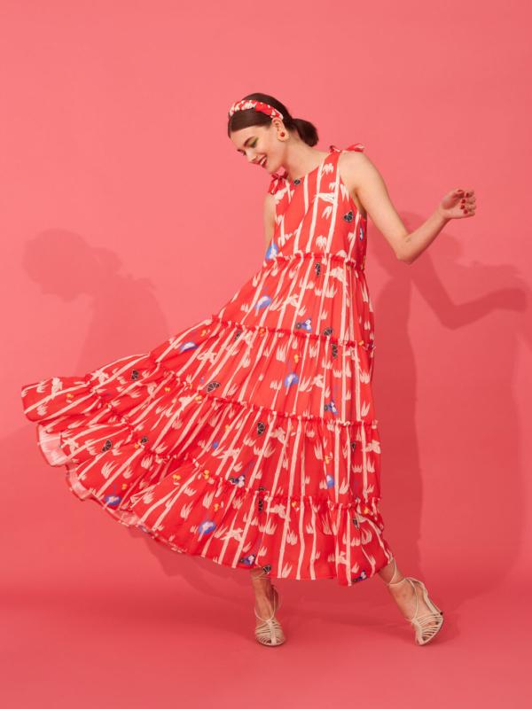 JUNKO DRESS (RED)
