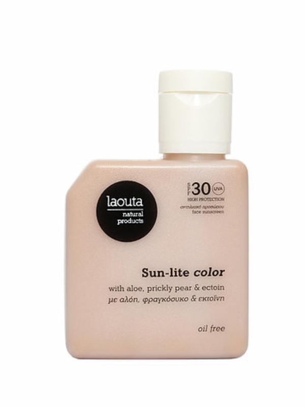 Sun-lite color   Face Sunscreen – Oil Free