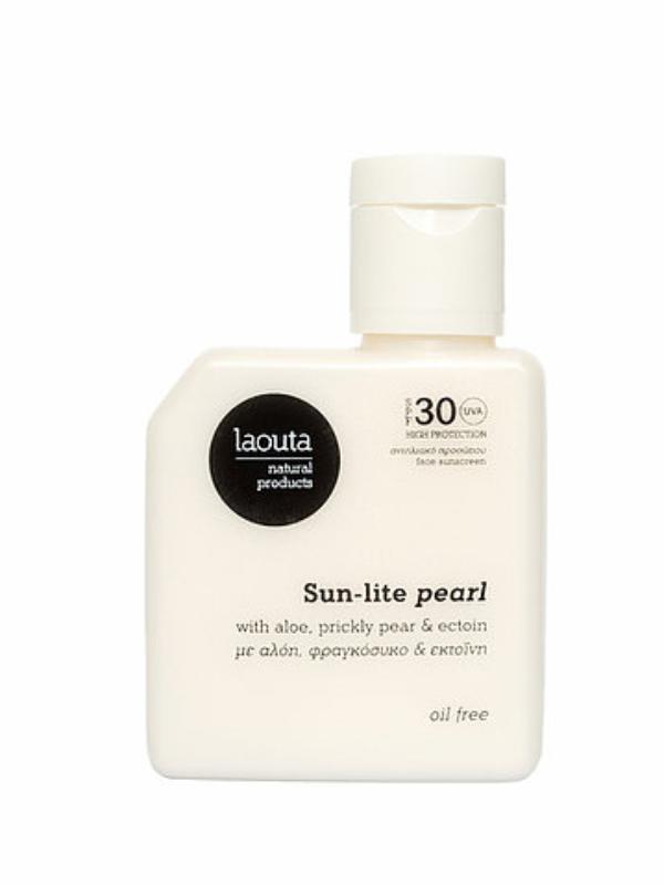 Sun-lite pearl   Face Sunscreen – Oil Free